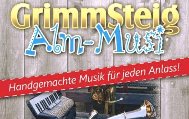 Willkommen bei der Grimmsteig - Alm  - Musi aus Nordhessen